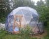 Навес купольный для бассейна диаметр 6м.
