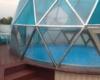 Навес купольный для бассейна диаметр 7м.